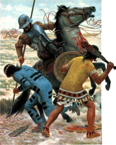 Spanish cavalry Conquistadors