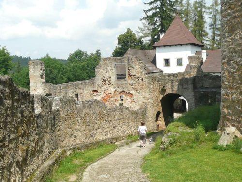 Trocnov stronghold, Hussite castle